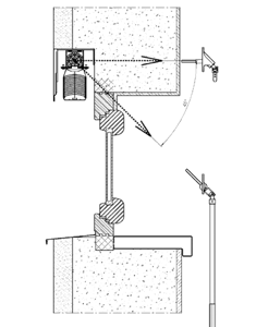 Montáž do vytvoreného vrecka (strop / stena)